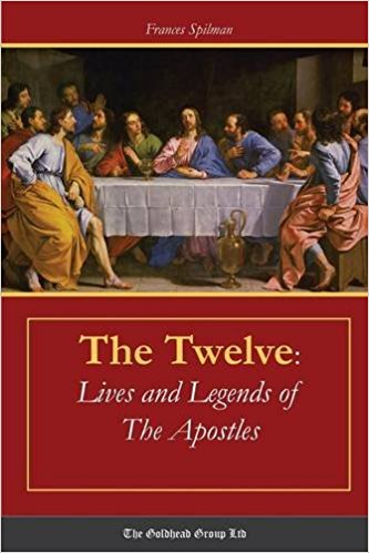 author Frances Spilman , twelve apostles, large table